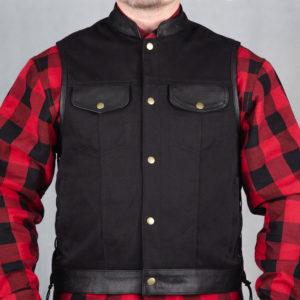 Hybrid Heavy Duty - Tekstil-/Skinnväst